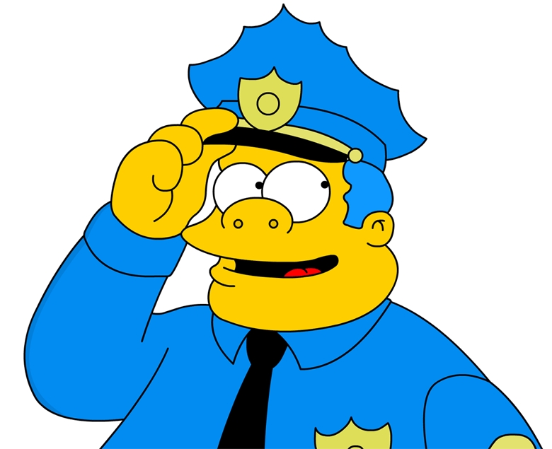policeman Simpsons