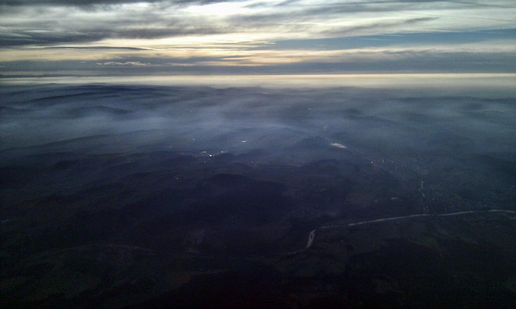 krajina z letadla