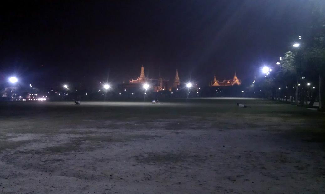 Sanam Luang v Bangkoku