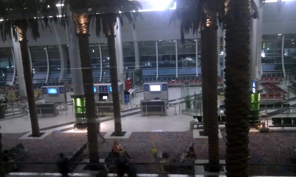 letiste Dubaj